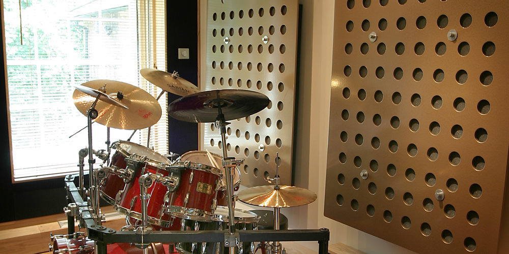 UK Recording Studio Drum Booth Near London